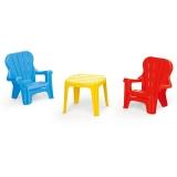 Set masuta cu 2 scaunele, color Dolu