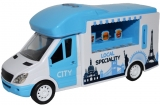 Microbuz street food, cu baterii