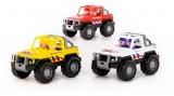 Jucarii Jeep-uri safari 71125 NL, 3 culori/set, Polesie
