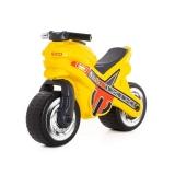 Motocicleta fara pedale 80578 MX-ON, culoare galben, Polesie