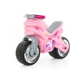 Motocicleta fara pedale 80608 MX-ON, culoare roz, Polesie