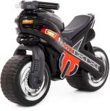 Motocicleta fara pedale MX-ON 80615, culoare negru, Polesie