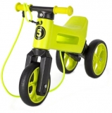 Bicicleta copii, fara pedale, Rider SuperSport 2 in 1, lime, Funny Wheels