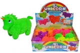 Unicorn din cauciuc, cu led si tepi, diverse culori