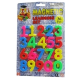 Set cifre magnetice, 36 buc/set Tupiko