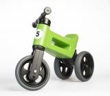 Bicicleta copii, fara pedale, Rider Sport 2 in 1, verde, Funny Wheels