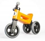 Bicicleta copii, fara pedale, Rider Sport 2 in 1, portocaliu, Funny Wheels