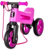 Bicicleta copii, fara pedale, Rider SuperSport 2 in 1, violet, Funny Wheels