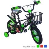 Bicicleta copii, cadru metalic, roti 12 inch, cos metalic, diferite culori, BB Fort
