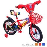 Bicicleta copii, cadru metalic, roti 12 inch, cos plastic, diferite culori, Cheetah