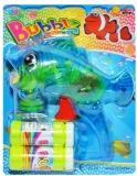 Pistol pentru baloanele de sapun, forma de peste