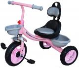 Tricicleta cu pedale, muzica si lumini, pentru fete