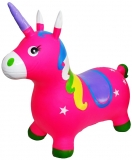 Unicorn din cauciuc, gonflabil