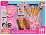 Set de joaca Fast Food, in cutie