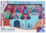 Castel muzical cu figurina si accesorii