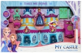 Castel muzical cu figurina si accesorii, 45 cm
