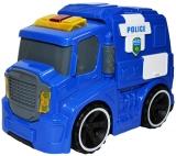 Masina politie cu frictiune, lumina si muzica