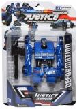 Jucarie Robot transformabil Politie, 13 cm