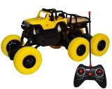 Jucarie Jeep cu telecomanda RC si AC, 6 roti din cauciuc, Cross Country