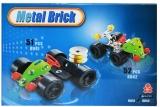 Joc constructii metal, masina de curse, 51 piese