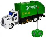 Jucarie Masina salubrizare cu telecomanda RC si AC Garbage Truck