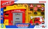 Set de joaca Statie de pompieri cu accesorii