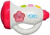 Trompeta cu baterii pentru bebelusi