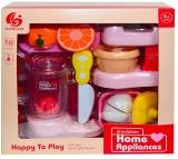Set de joaca Aparate casnice si accesorii, cu baterii, 1 set/cutie
