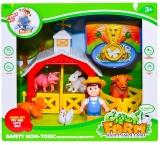 Set de joaca Animale ferma cu accesorii
