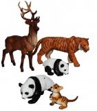 Set de joaca Animale salbatice, 5 buc/set