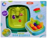 Set de joaca Chiuveta cu lumina, sunete, legume si accesorii
