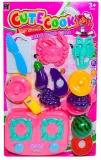Set de joaca Fructe/legume pretaiare cu accesorii, 1 set/blister