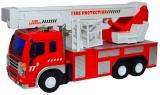 Jucarie Masina de pompieri 1:16, cu frictiune
