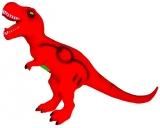 Jucarie Dinozaur cu baterii