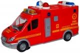 Jucarie Masina de Pompieri cu baterii
