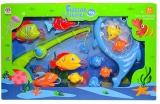 Set de joaca Undita cu pesti si accesorii, 1 set/cutie