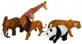 Set de joaca Animale salbatice, 5 buc/set, in punga