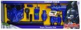 Set de joaca arme politist, cu baterii, 1 set/cutie