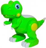 Jucarie Dinozaur cu baterii, culoare verde