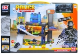 Set de joaca Parcare cu masini politie, 1 set/cutie