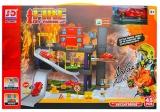 Set de joaca Parcare cu masini pompieri, 1 set/cutie