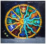 Puzzle carton, 500 piese, model Zodiac