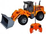 Jucarie Tractor-Incarcator cu telecomanda RC Truck Builder