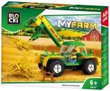 Joc constructie Tractor cu incarcator, Blocki