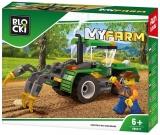 Joc constructie Tractor cu plug, Blocki