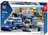 Joc constructie Brigada de Politie mobila, 332 piese, Blocki