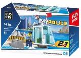 Joc constructie Turn de control Politia navala, 57 piese, Blocki