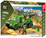 Joc constructie Camion armata, 169 piese, Blocki