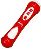 Microfon cu baterii rosu/alb
