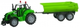 Jucarie Tractor cu remorca pentru gunoi